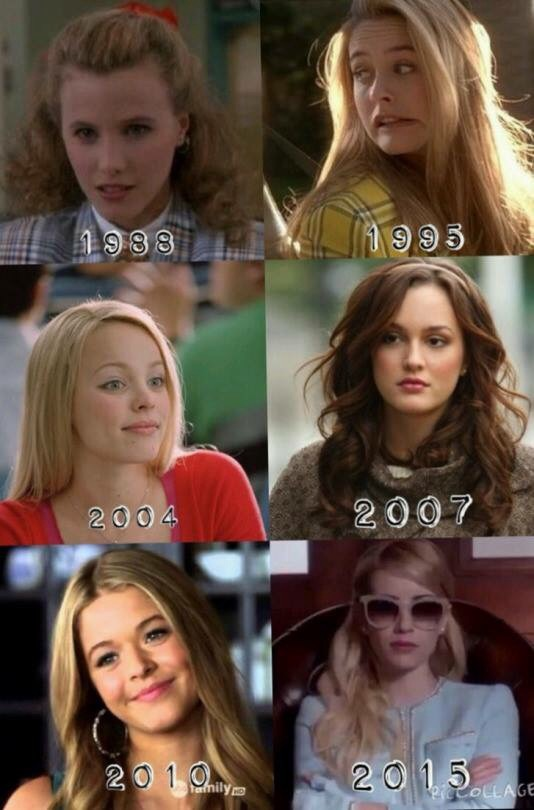 alicia silverstone, alison dilaurentis, blair waldorf, chan, cher