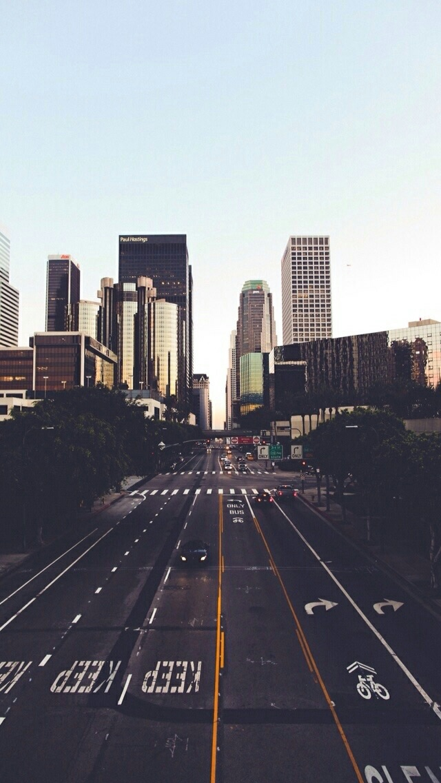 beautiful, california, city, los angeles, street