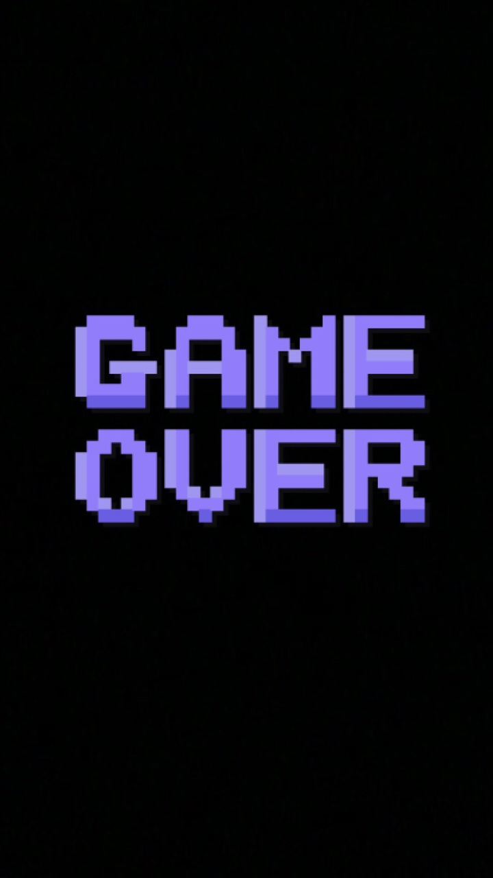 background, black, frill, game, game over