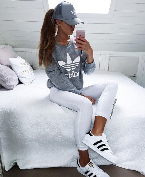 adidas, brunette, follow, girl, goals