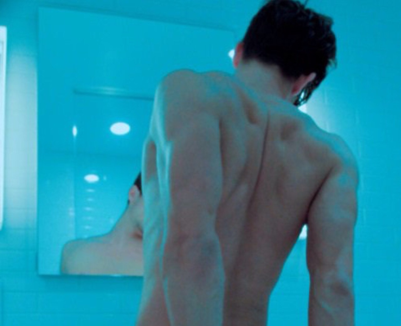 aesthetic, aqua, back, blue, body
