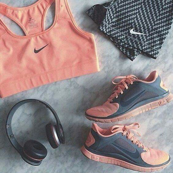 clothes, fashion, fit, fitness, headphones