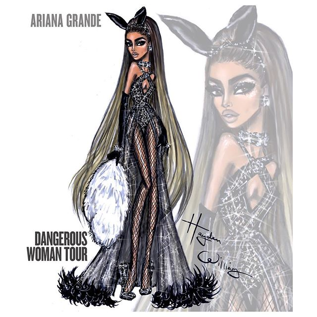 ariana grande, art, draw, drawing, hayden williams