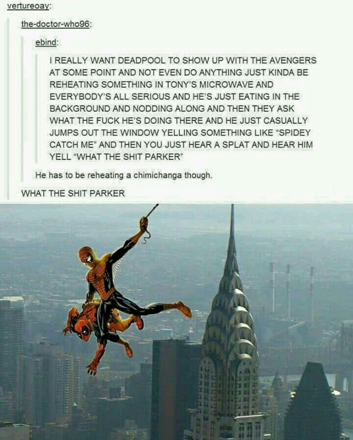 avengers, deadpool, funny, spiderman, spidey