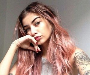 cabelo, cabelo rosa, fashion, girl, hair