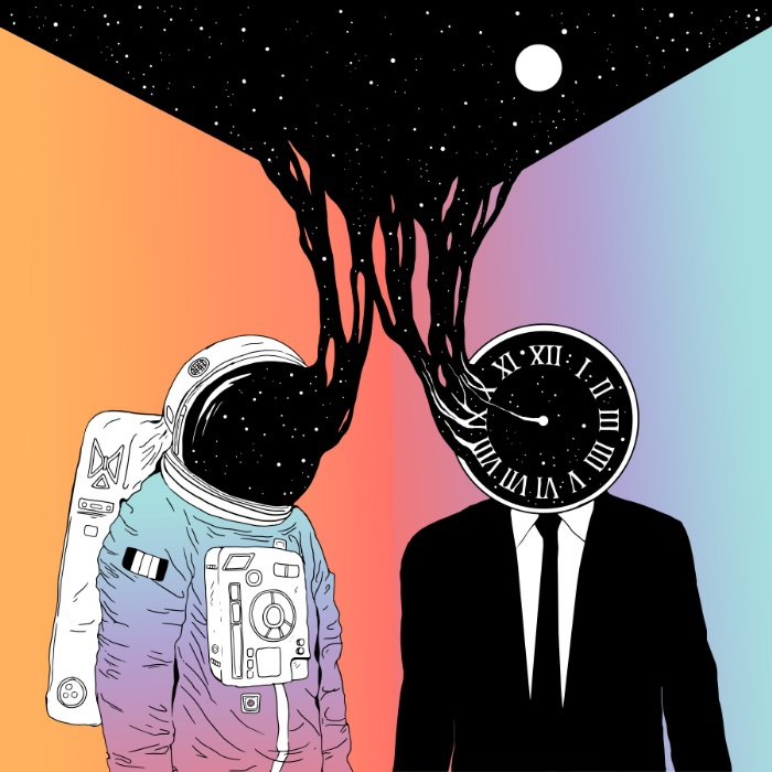 aesthetic, astronaut, background, grunge, indie