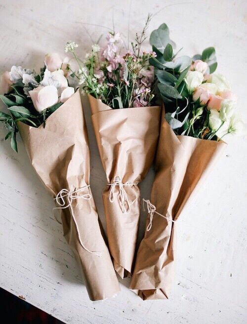 aesthetic, bouquet, cute, flowers, green