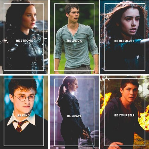 book, brave, clary, daniel radcliffe, harry potter
