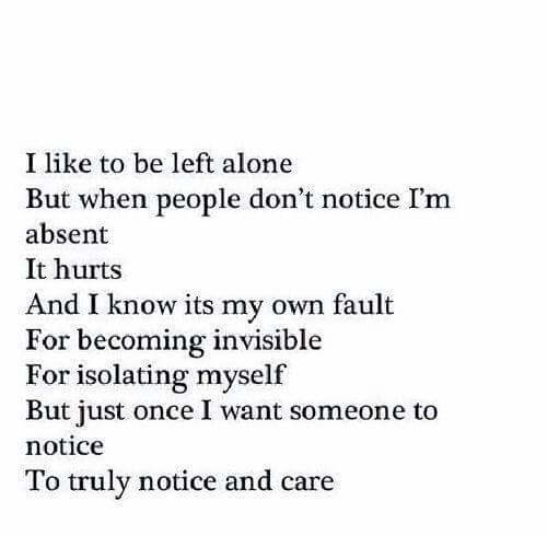 alone, depression, hurting, invisible, pain