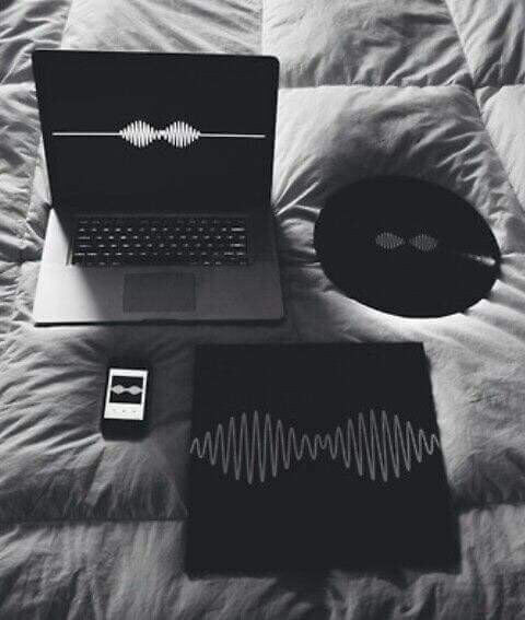 arctic monkeys, black, rock, tumblr