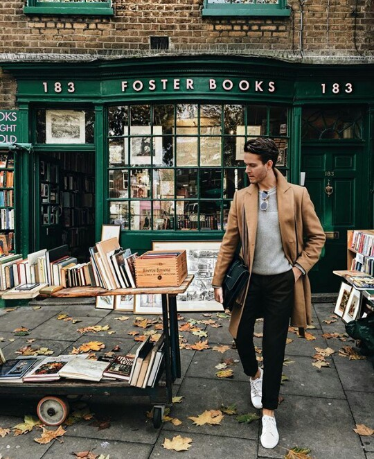 aesthetic, books, boy, gentleman, library