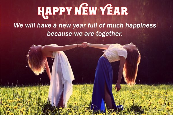 friends, happiness, happy new year, new year, quotes