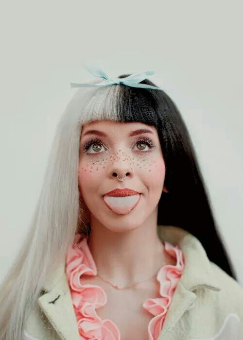 fashion, freckles, hair, indie, melanie martinez