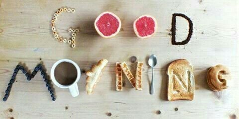 bread, breakfast, coffee, cup, good morning