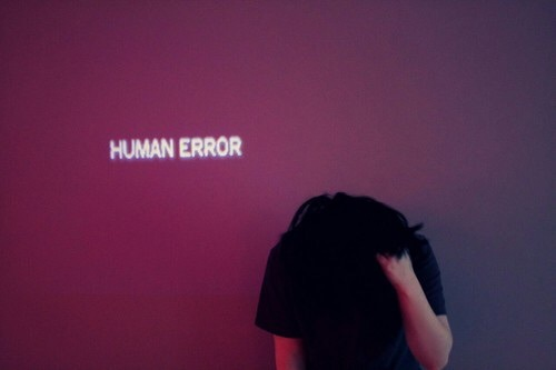 aesthetic, black, error, frustrated, human