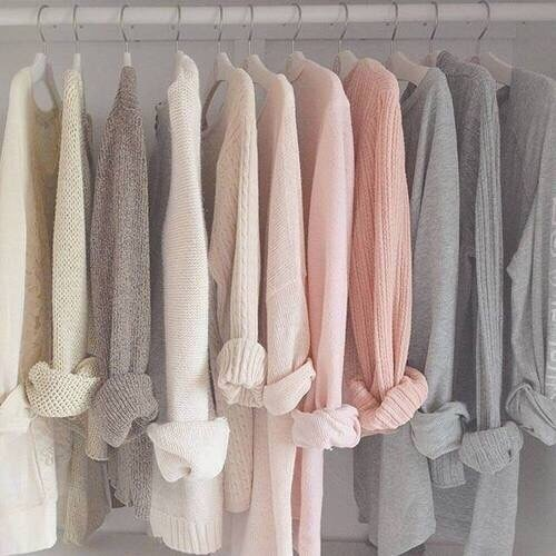 clothes, colored, look, pink, shirts