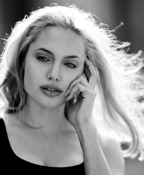 actor, angelina jolie, blonde, hair, hollywood