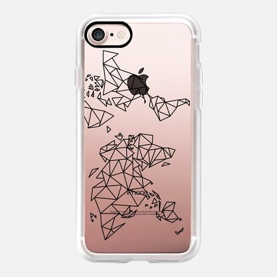 black, case, clear, cover, designer