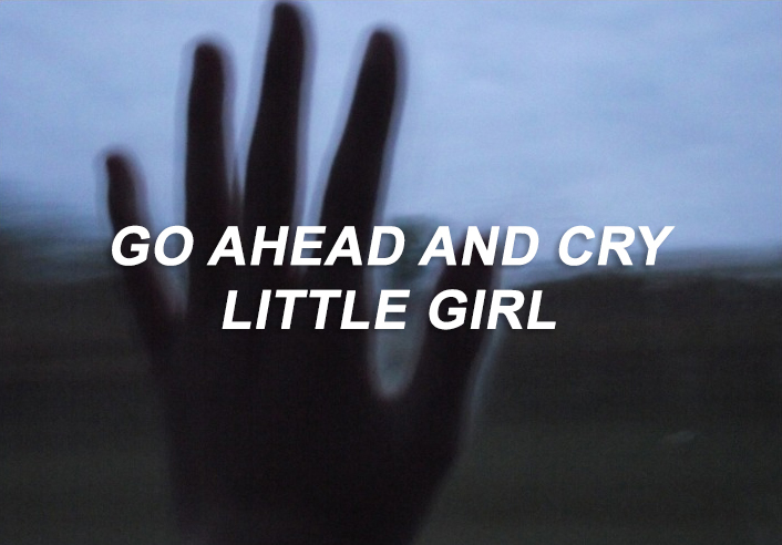 cry, daddy issues, girl, hand, indie