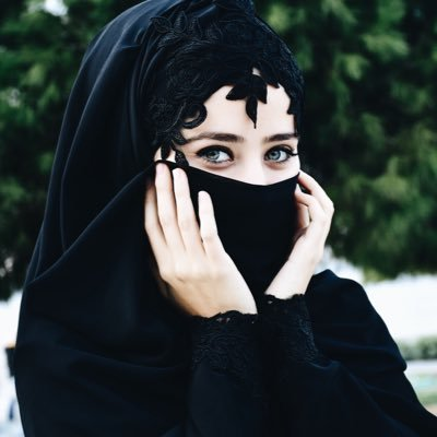 beutiful, black, eyes, girl, hijab