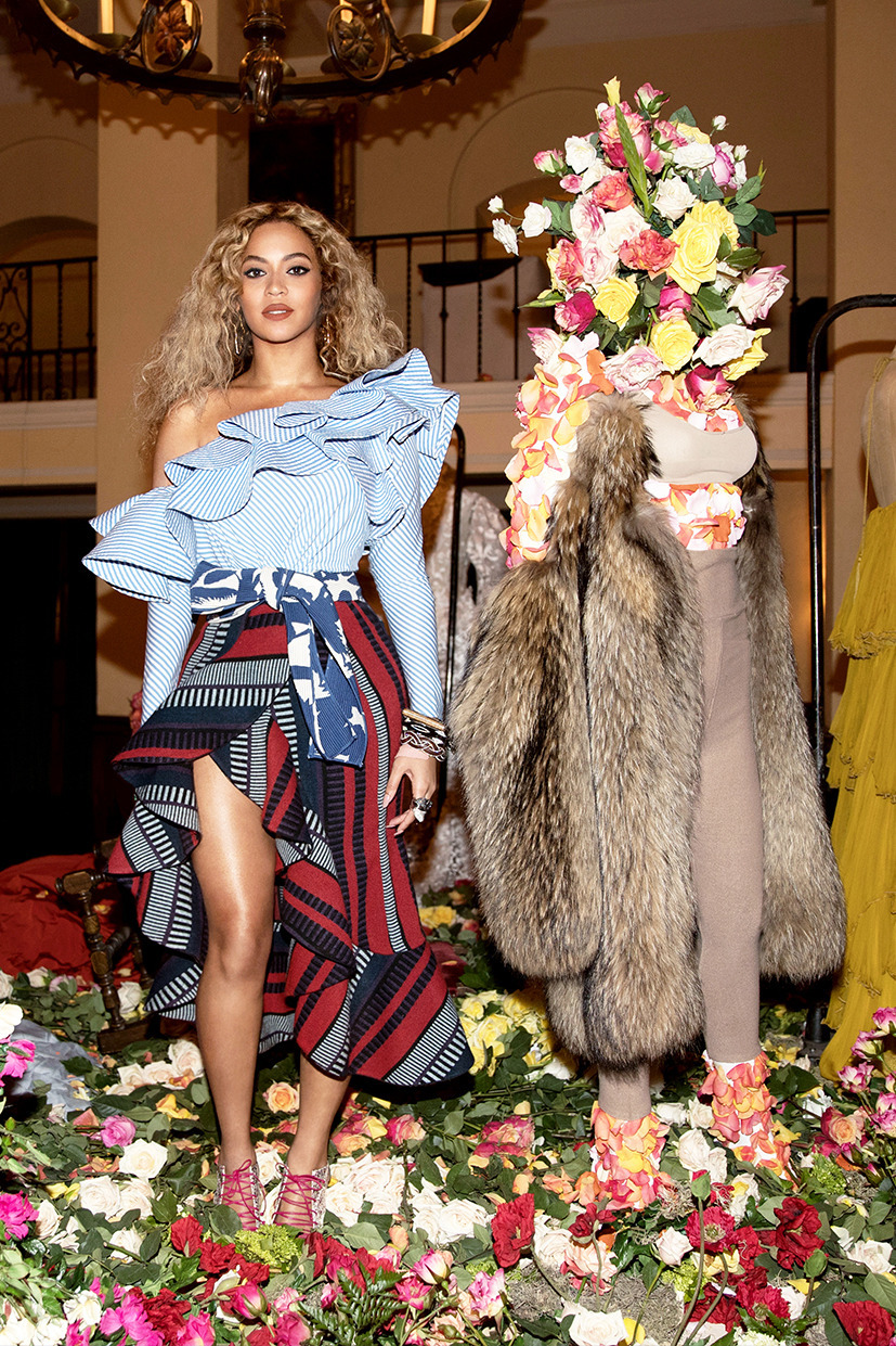 queen bey, mrs carter, beyoncé, parkwood holiday party, lemonade screening