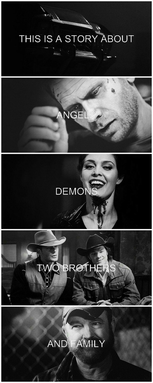 bobby singer, brothers, castiel, crowley, dean winchester