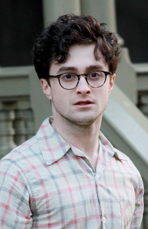 curly, curly hair, daniel, daniel radcliffe, glasses