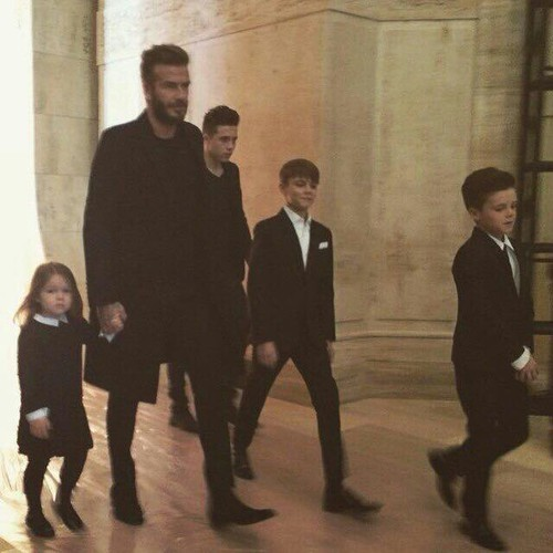 beckham, couple, david beckham and love