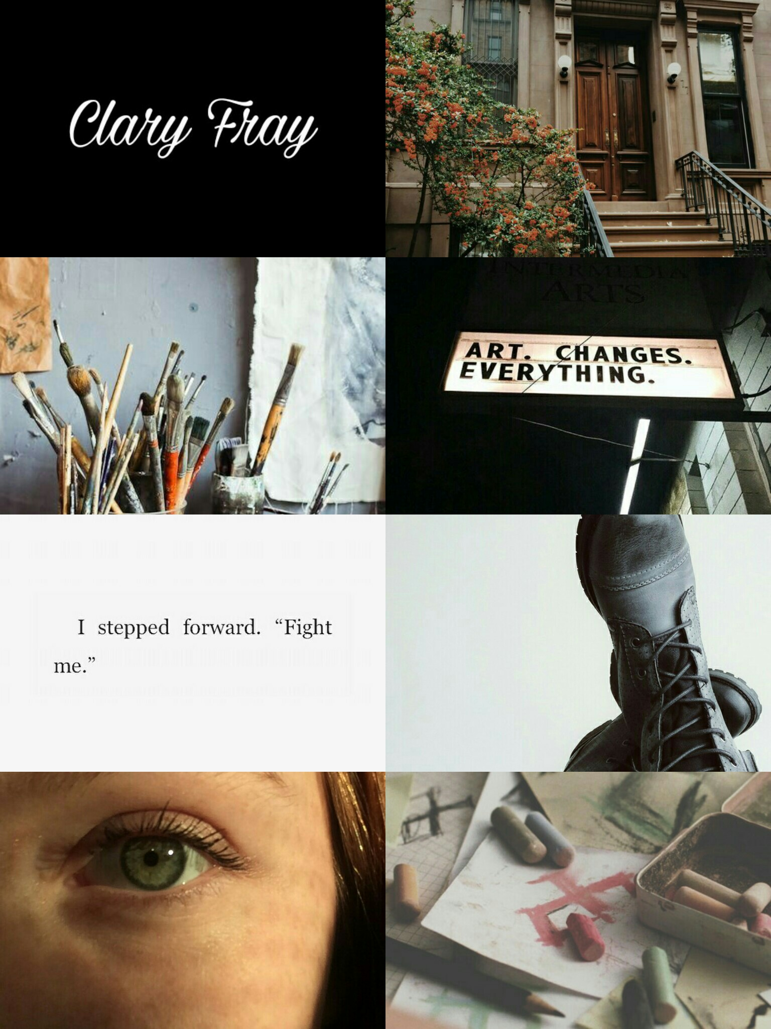 aesthetic, clary fray and shadowhunters