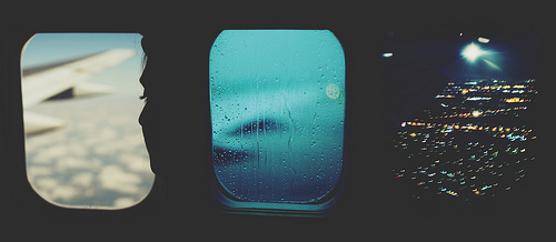 airplane, girl, indie, night, photography