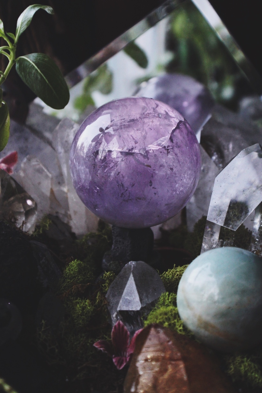 alternative, amethyst, art, bohemian, boho