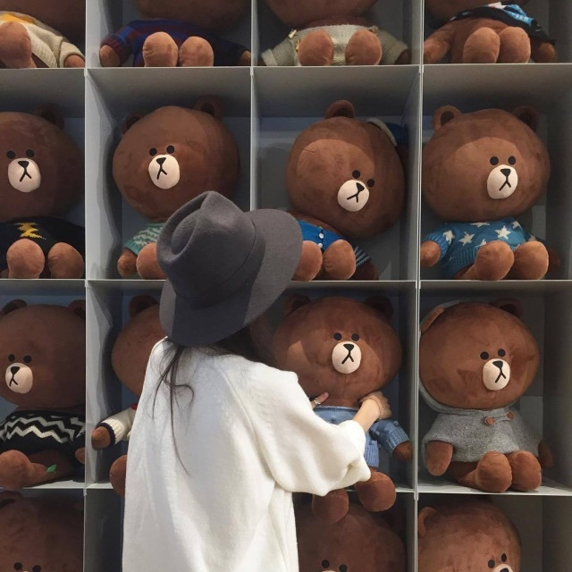 background, bear, cute, fashion, hat