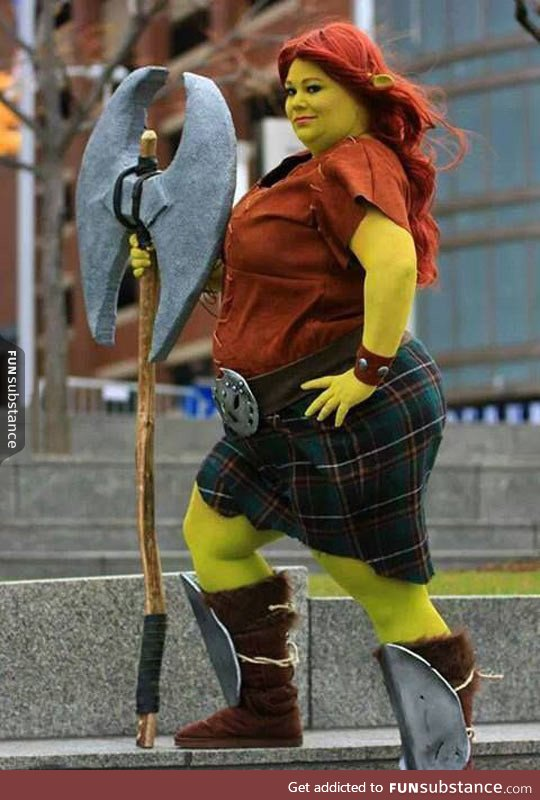 awesome, cosplay, fiona and funny