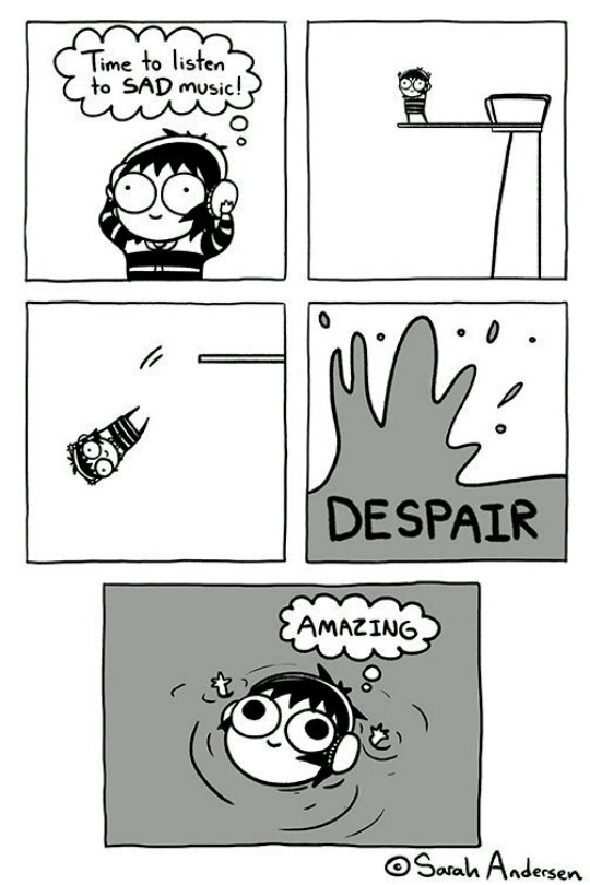 comics, funny, lol, time, sarah andersen