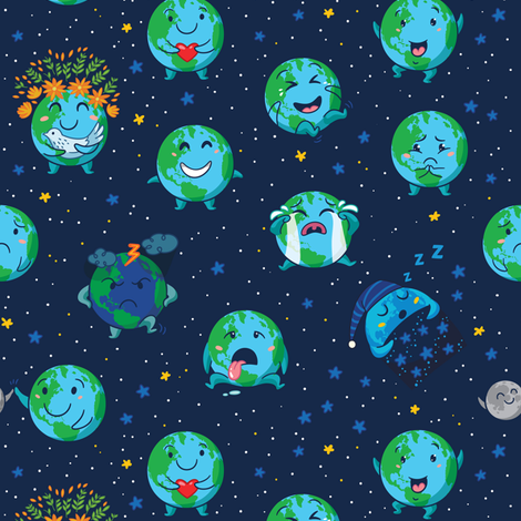 background, cute, earth, emotions, globes
