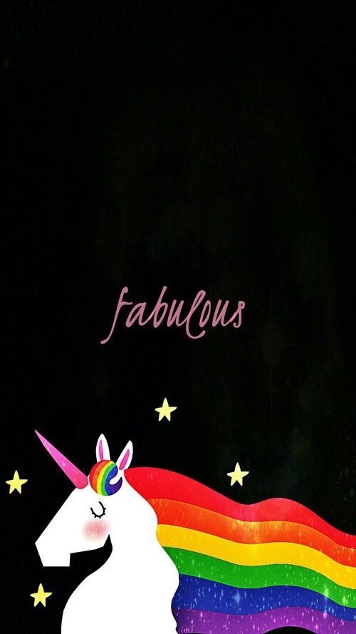 fabulous, iphone, unicorn, wallpaper