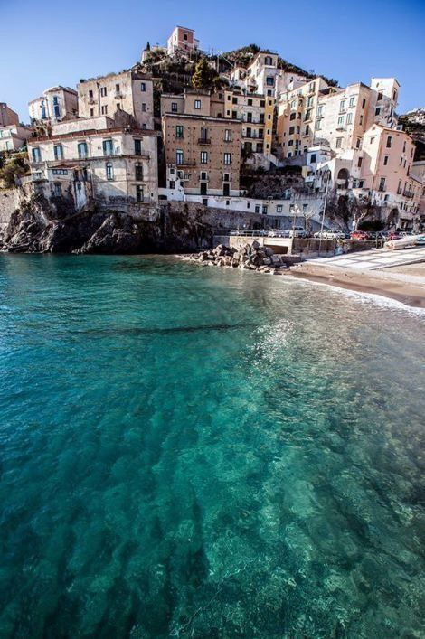 italy, landscape, sea, travel, view