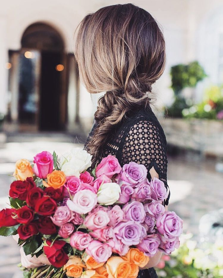 alternative, beauty, bouquet, boutique, braid