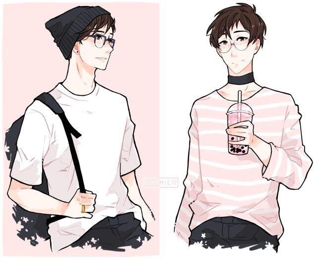 aesthetic, beauty, boy, clothes, drawing