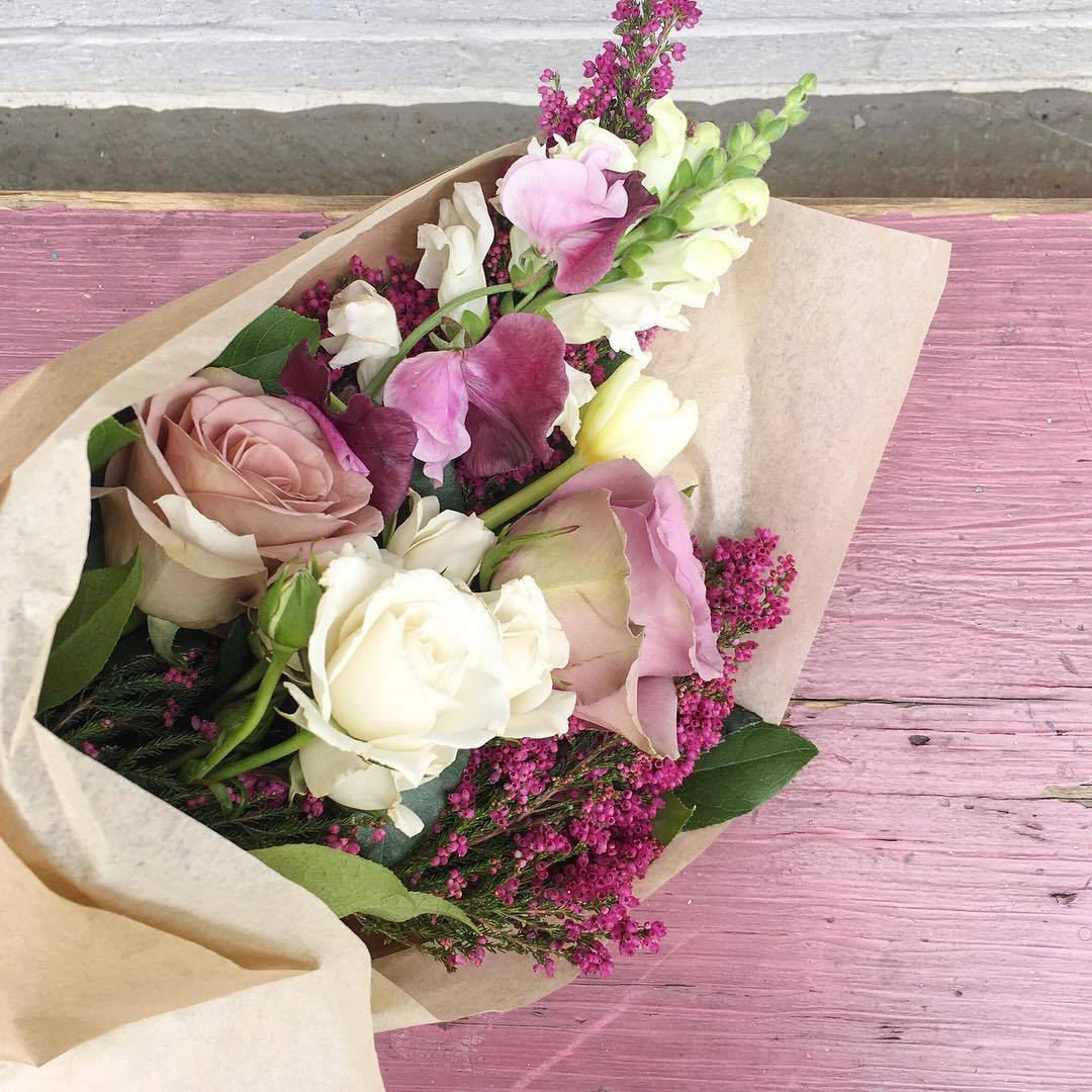 bouquet, cupid, flowers, pink, roses