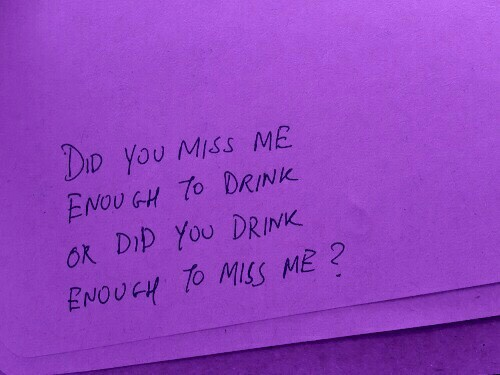 broken heart, depression, drink, drunk, purple