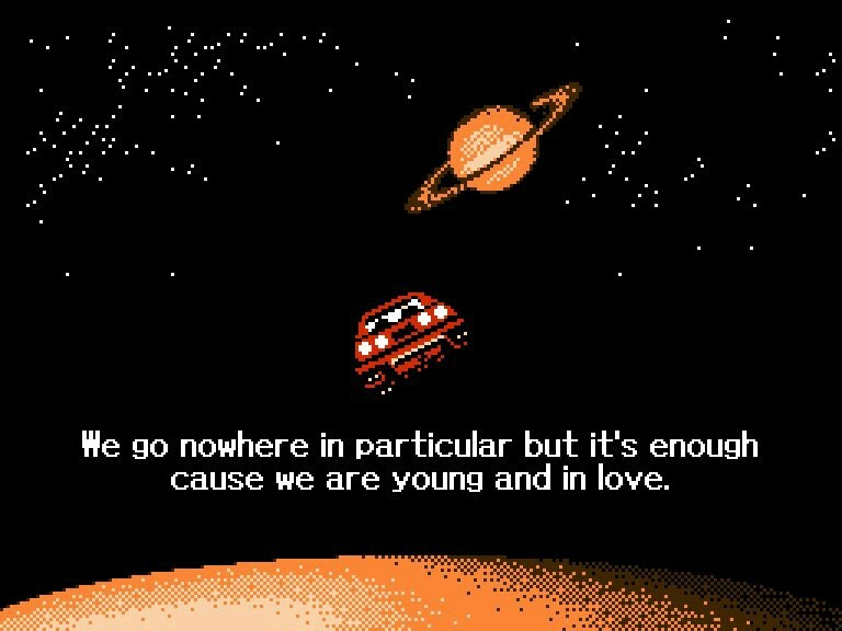 aesthetic, pixels, planets, quotes, space