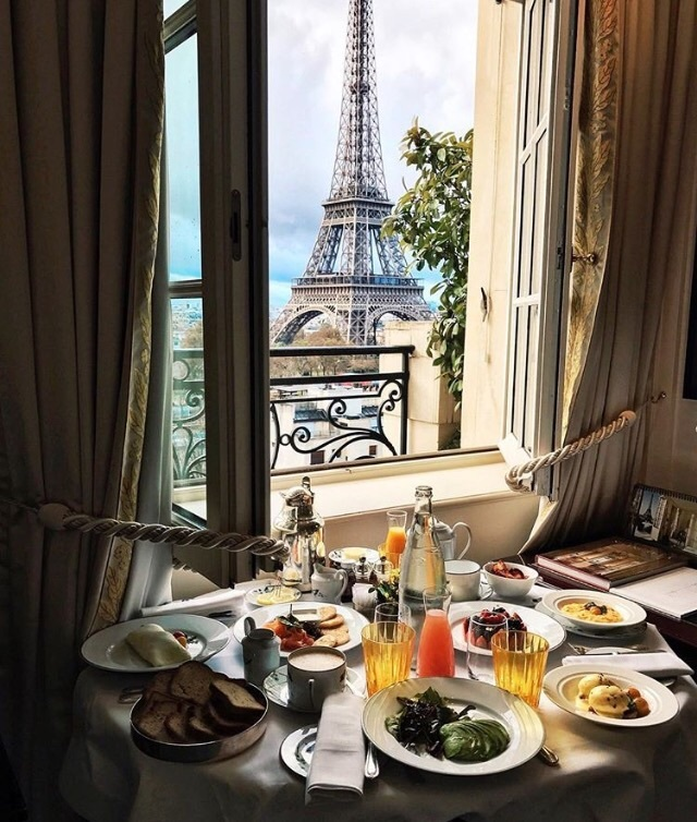 adventure, beautiful, breakfast, city, eiffel tower