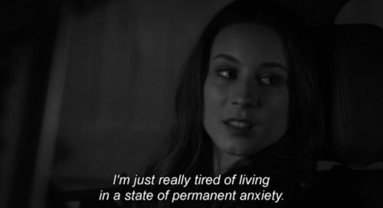 anxiety, anxious, depression, grunge, pll