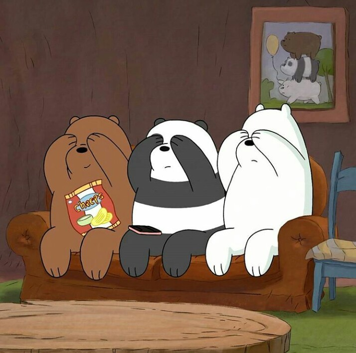 bear, cartoon, cartoon network, cute, ice bear