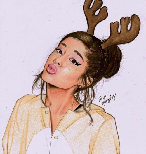 ariana, ariana grande, art, draw, drawing