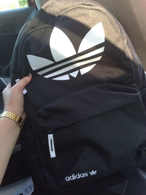 adidas, backpack, bag, darkness, style