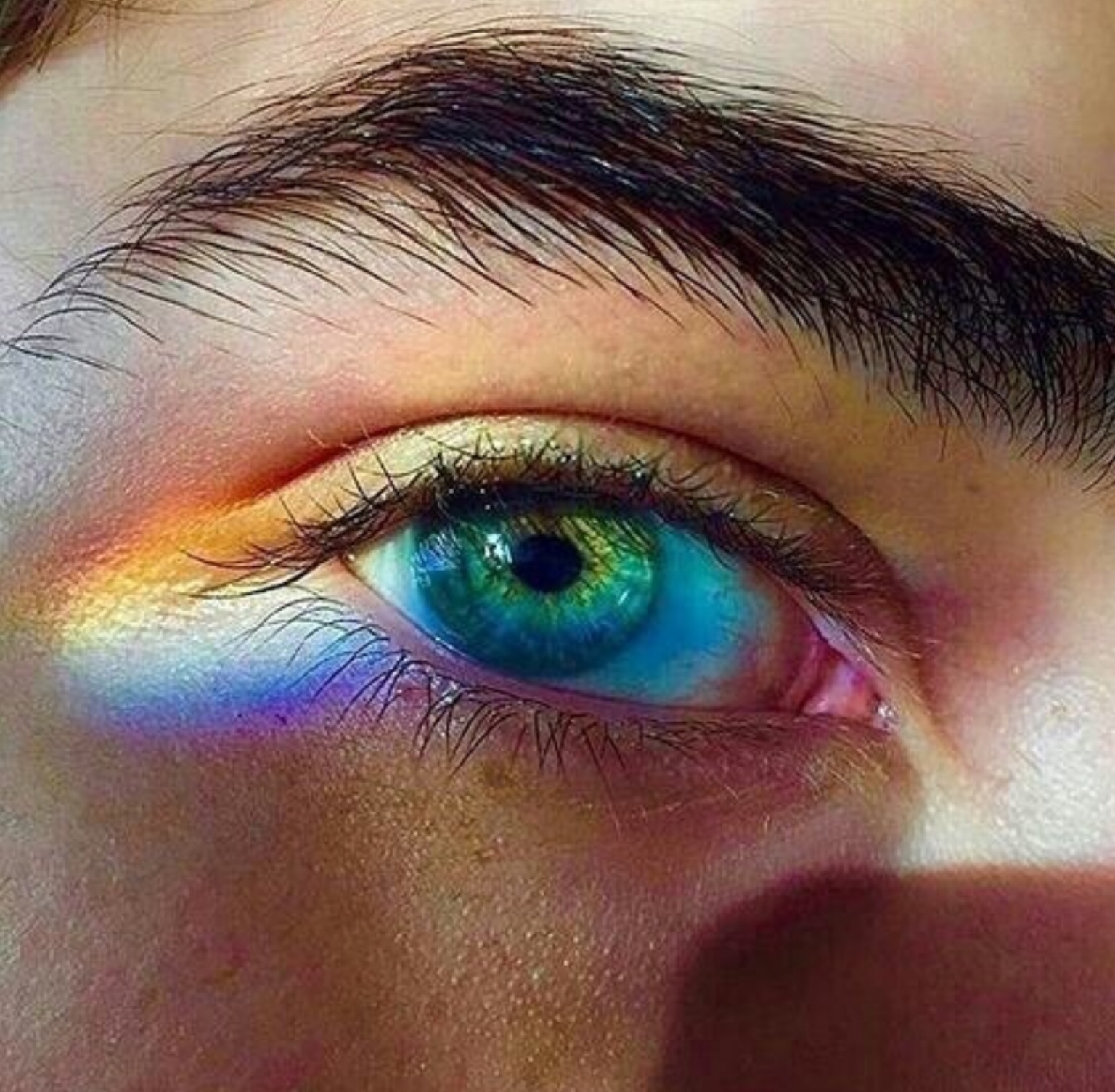 aesthetic, boy, colorful, colors, eye