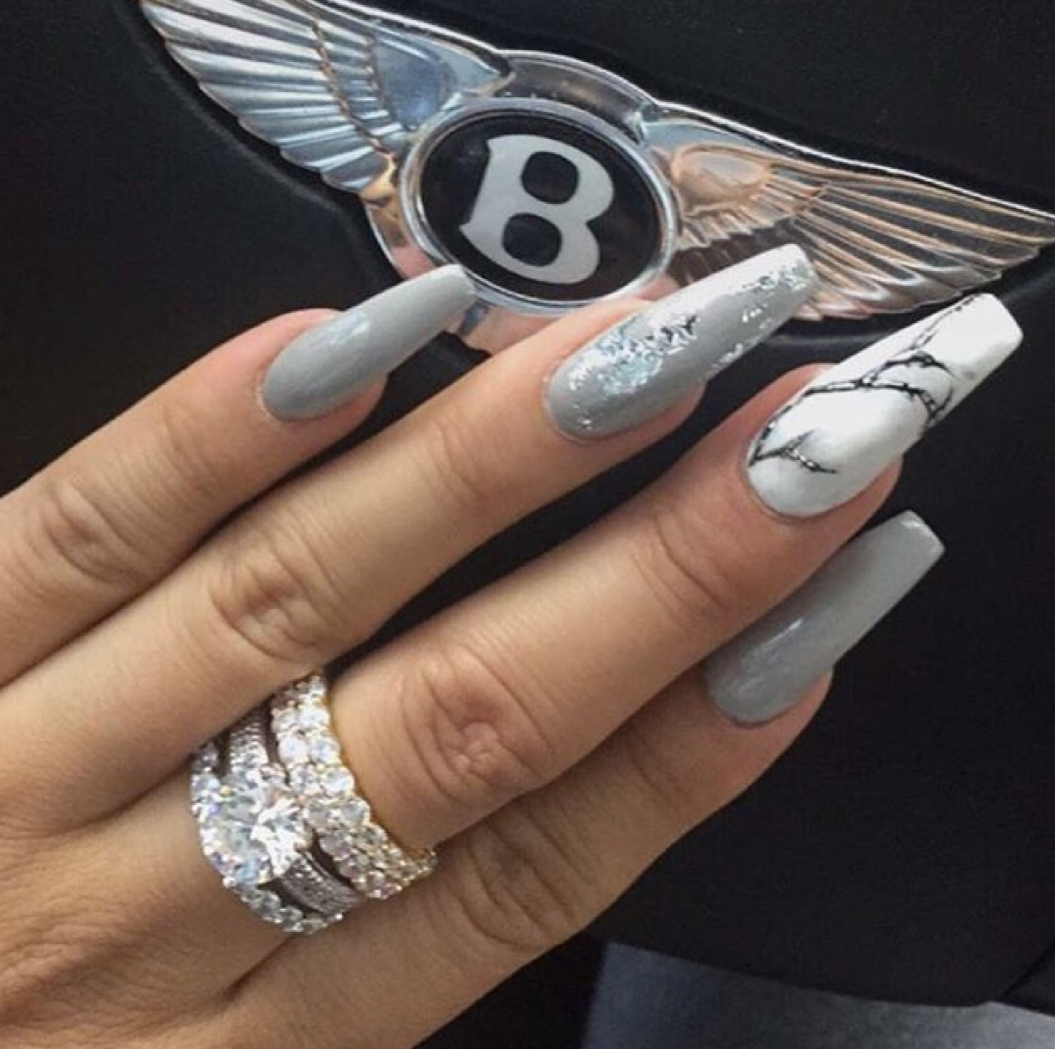accessories, long nails, nails, nails art, nails polish