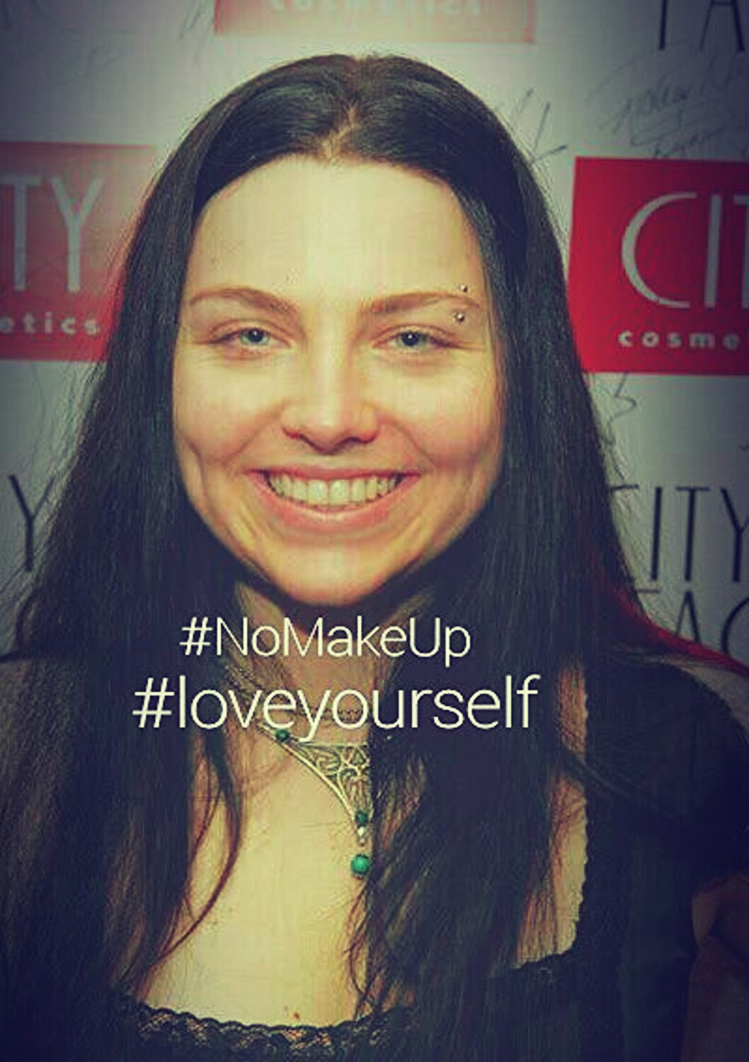 amy lee, band, bands, beautiful, dimples